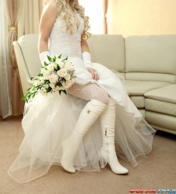 Свадебные сапоги купить